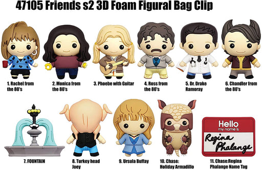 Warner Bros: Friends 3-D Foam Figural Bag Clip Blind Bag - Series 2