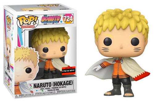 Funko Pop! Boruto - Naruto Next Generations Naruto Hokage Common Pop! Vinyl Figure #724 AAA Anime Exclusive