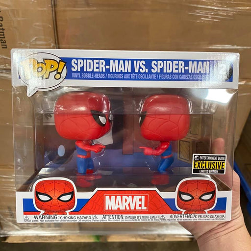 Funko Pop! Spider-Man Imposter Pop! Vinyl Figure 2-Pack – Entertainment Earth Exclusive