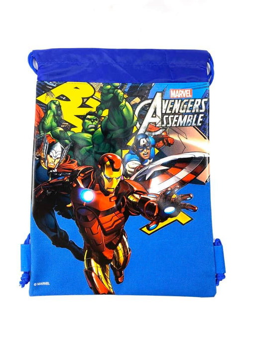 Marvel Avengers: Drawstring Bags - Sport Gym Tote Bag