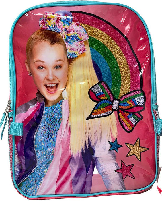 "Jojo Siwa: 16"" Backpack - Detachable Insulated Lunch Bag"