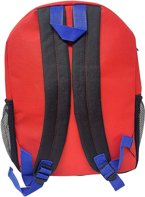"Spiderman: 16"" Backpack - Detachable Insulated Shaped Lunch Bag"