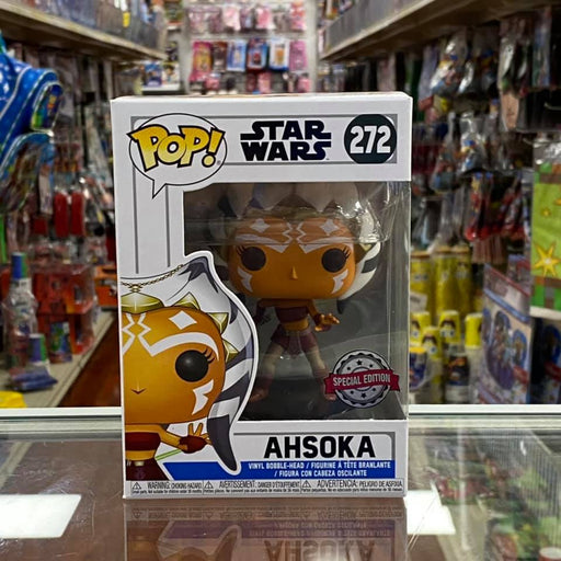 Funko Pop! Star Wars Ahsoka #272 (Action Pose) Vinyl Figure Special Edition