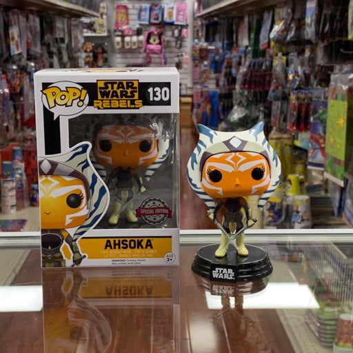 Funko Pop! Star Wars REBELS : Ahsoka #130 Vinyl Figure Special Edition