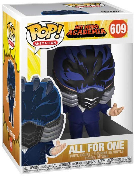 Funko Pop Animation : My Hero Academia : ALL FOR ONE #609 Vinyl Figure