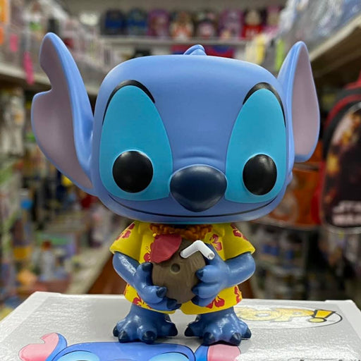 Funko Pop Disney Aloha Stitch Vinyl Figure Special Edition Exclusive #203