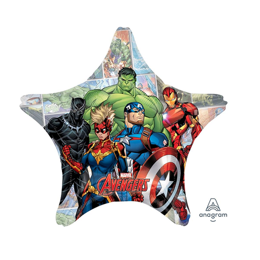 "28"" Supershape Giant Avengers Star Balloon"