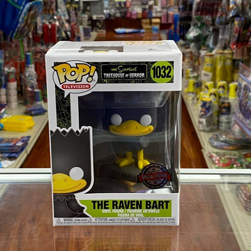 Funko Pop! Television Simpsons - The Raven Bart Vinyl Figure Special Edition