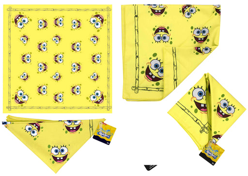 Spongebob Squarepants - Kids Bandana Face Mask Scarf Headband