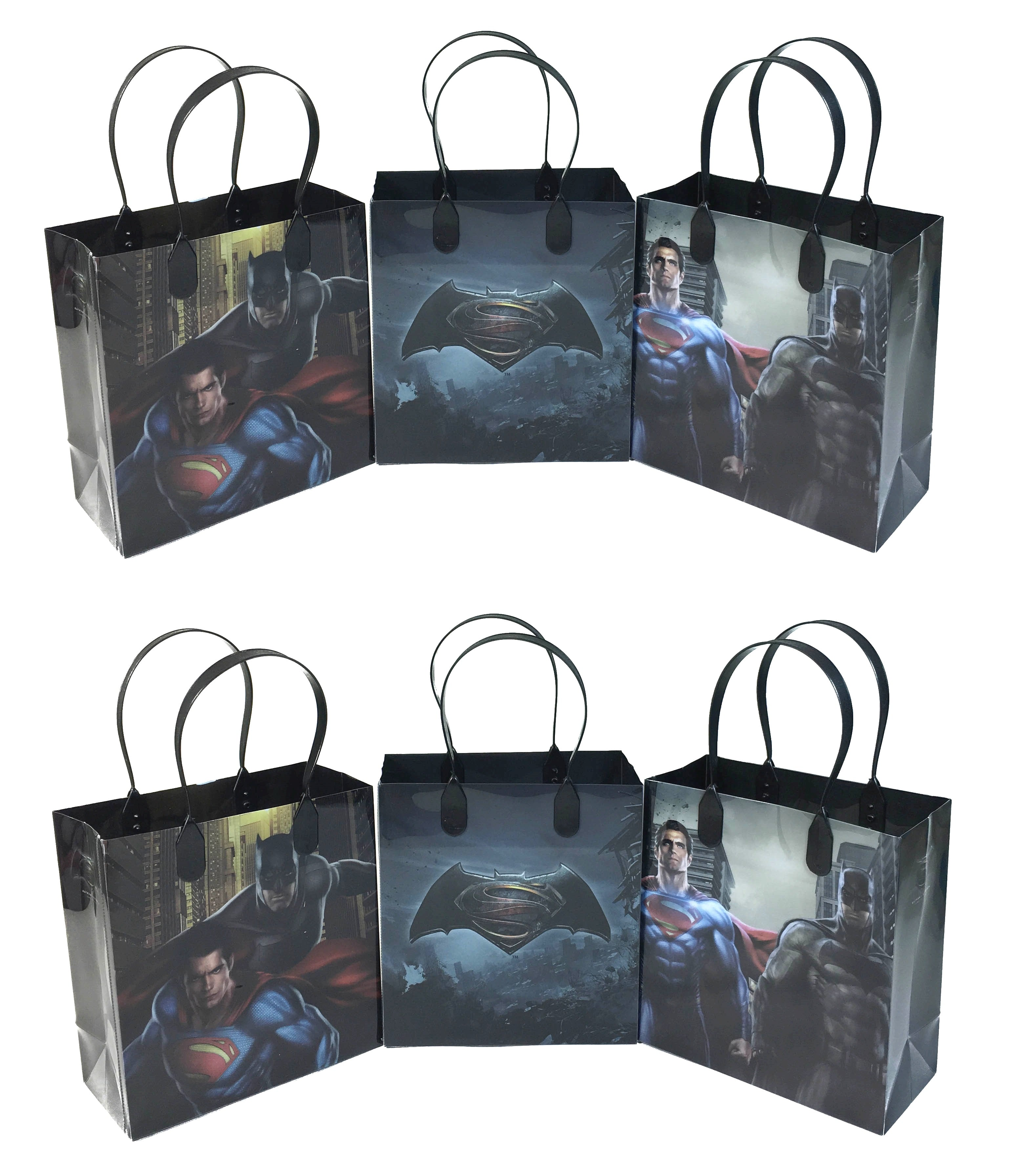Batman v Superman Goody Bags Party Favor Gift Bags – Beyond Party ...