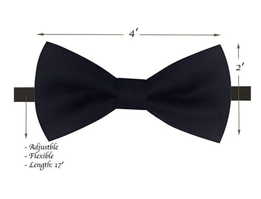 Kids Bow Ties - Toddler Black Bow Tie