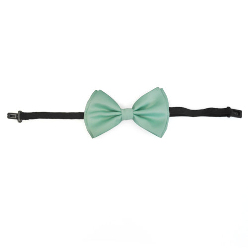 Mint Green Teal  Matching Set Suspender and Bow Tie