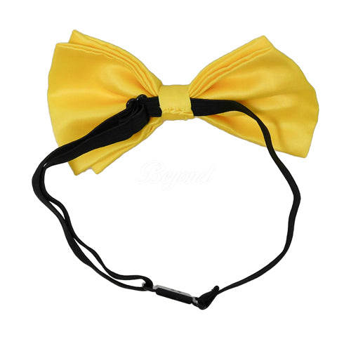 Yellow Matching Set Suspender and Bow Tie