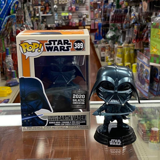 Funko Pop! Star Wars Darth Vader Concept Series vinyl figure 2020 Galactic Convention Exclusive