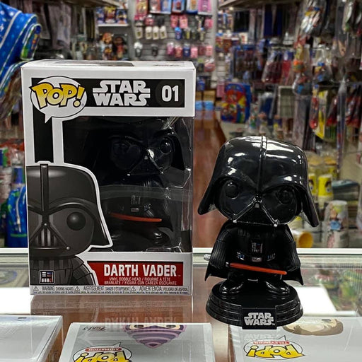 Funko Pop Star Wars: Darth Vader #01 Vinyl Figure
