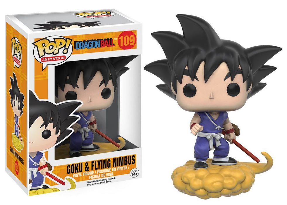 Pop! Animation: Dragonball Z - Goku & Flying Nimbus  #109 Vinyl Figure