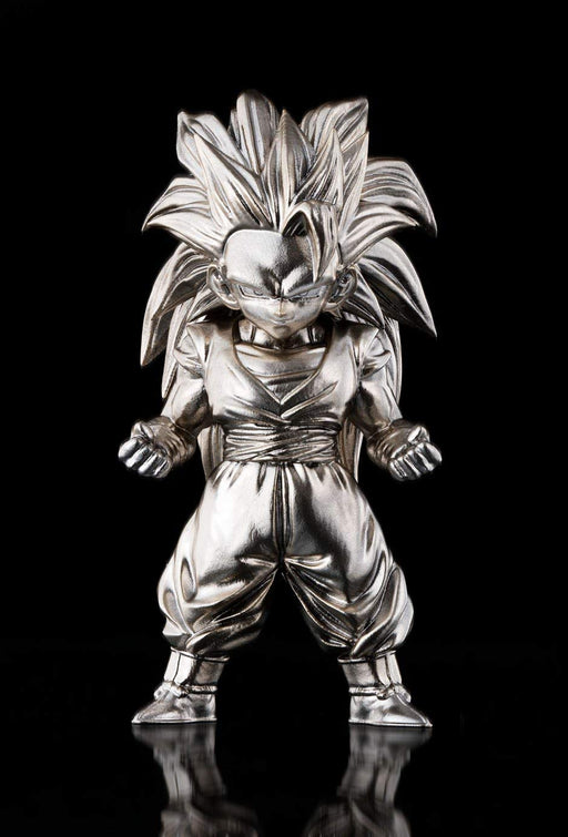 Tamashii Nations Bandai dz-08 Super Saiyan 3 Son Goku Dragon Ball Z, Bandai Absolute Chogokin Small Metal Statue