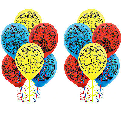 "Toy Story 4 Birthday  12"" Latex Balloons Party Supplies"