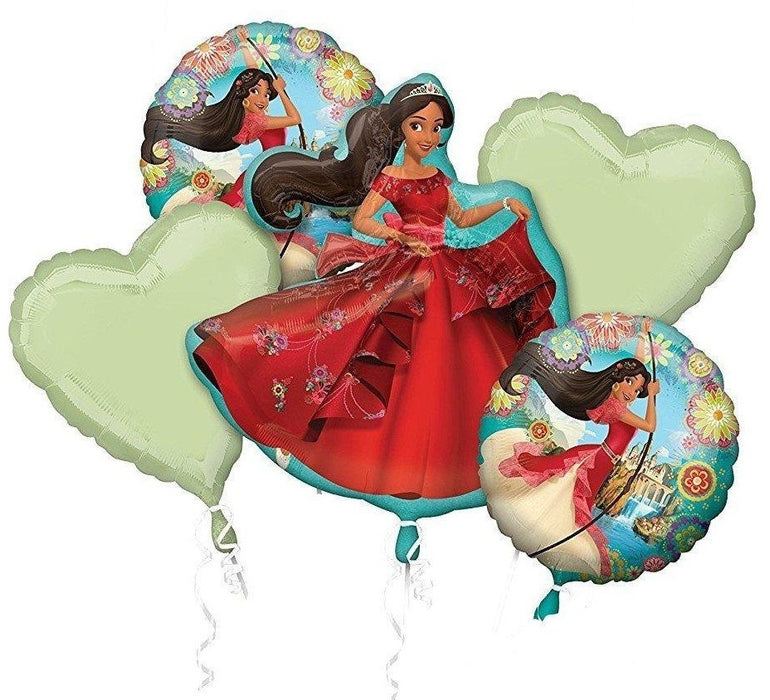 Elena of Avalor Balloon Bouquet 5pc