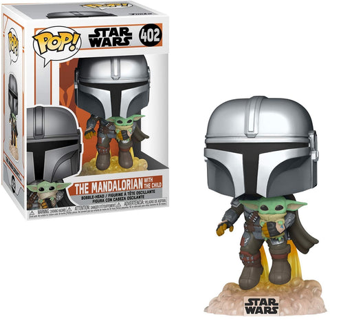 Funko Pop! Star Wars - The Mandalorian with the child Vinyl  Figure #402