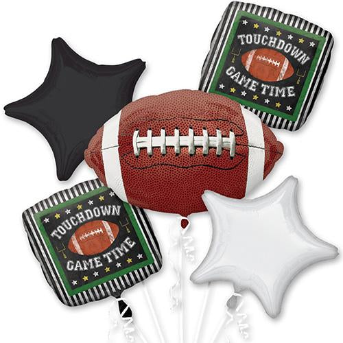 American Football Sports Balloon Bouquet Party Supplies