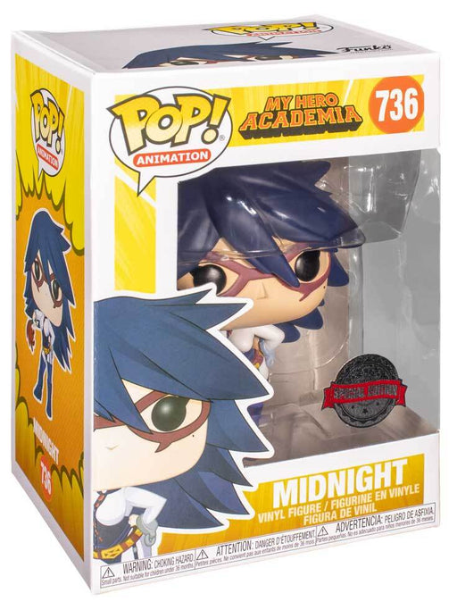 Funko Pop Animation : My Hero Academia MIDNIGHT #736 Special Edition Exclusive