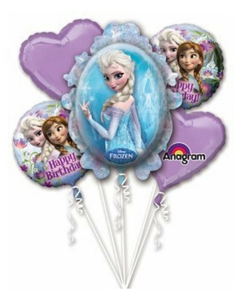 Frozen Balloon Bouquet 5pcs Party Supplies
