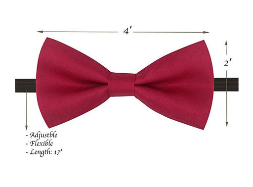 Kids Bow Ties - Toddler Hot Pink Bow Tie