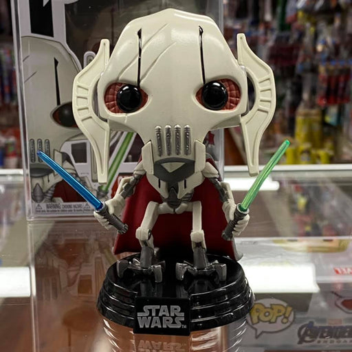 Funko Pop Star Wars : General Grievous #129 Vinyl Figure Walgreens Exclusive with Special Edition Sticker!