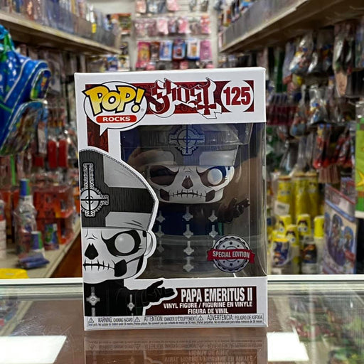 Funko Pop! Rocks Papa Emeritus II Exclusive #125 Vinyl Figure Special Edition