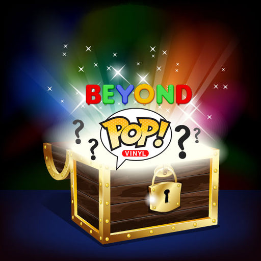 Beyond Mystery Box Activated! Lot of 6 Funko Pop Vinyl Figures (1 Chase OR Exclusive Pop!)