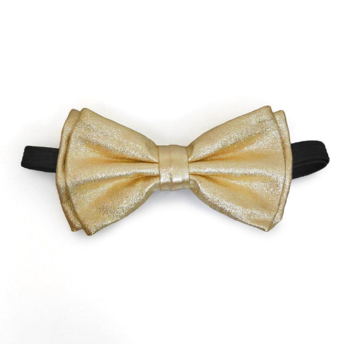Adult Bow Ties - Gold Metallic Bow Tie