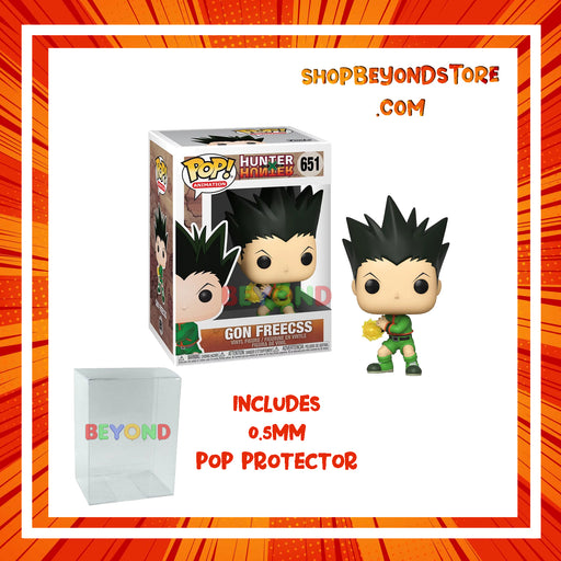 Funko POP! Anime - Hunter X Hunter - Gon Freecs Jajank Pop! Vinyl Figure w/ Protector Case