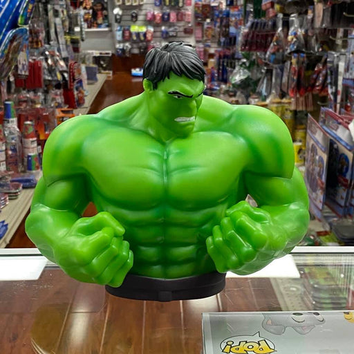 "Marvel Hulk 5 x 9x 7"" Coin/Bust Bank Christmas Birthday Gift"