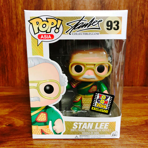Pop Asia ToyCon2016 - Stan Lee Guan Yu #93 Vinyl Figure Green