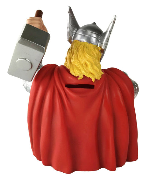 "Marvel Comics Thor 7"" Coin/Bust Bank Christmas Birthday Gift"