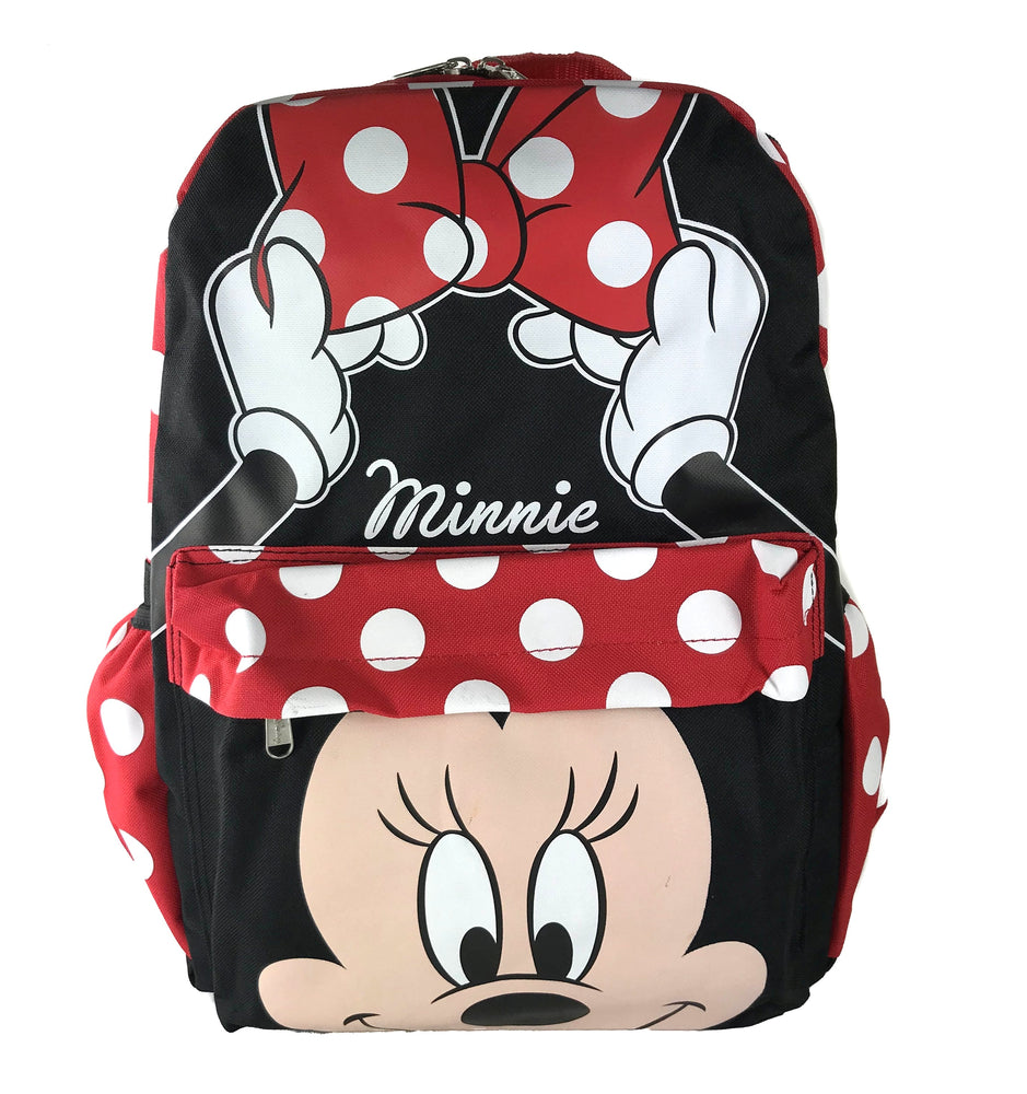 Minnie Mouse Faces Backpack