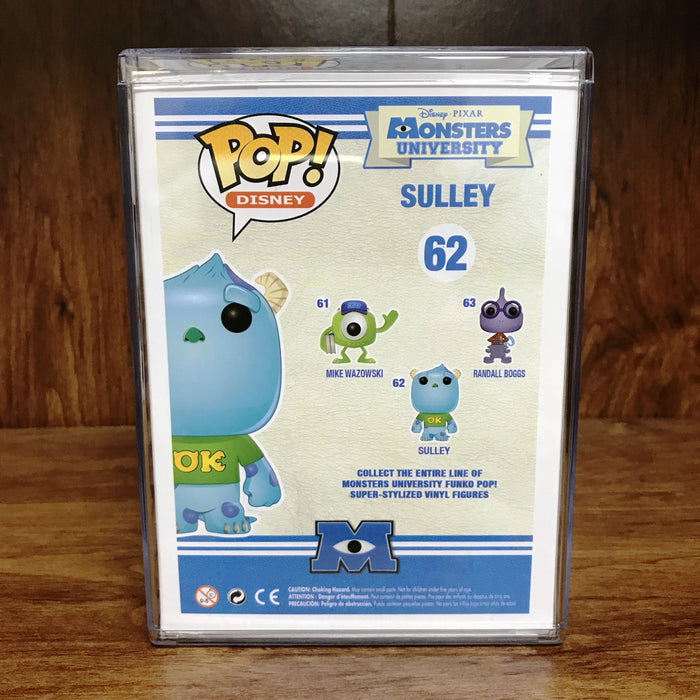 "Pop Disney - Monsters University - Sulley #62 Vinyl Figure ""Vaulted"""