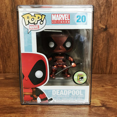 Pop 2013 Comic Con Exclusive - Marvel Deadpool #20 Vinyl Figure