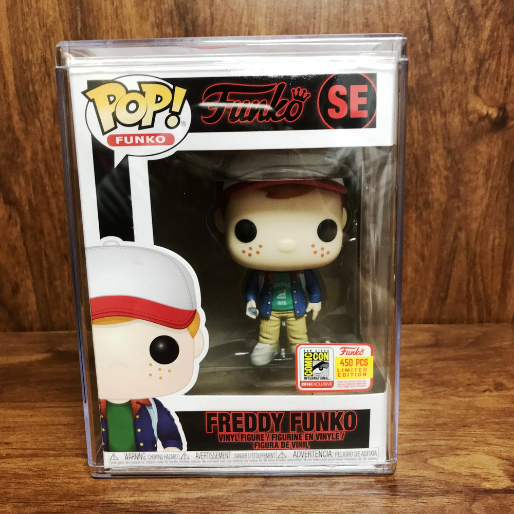 SDCC 2018 Pop Funko - Fundays - Freddy Funko SE Stranger Things Dustin Vinyl Figure