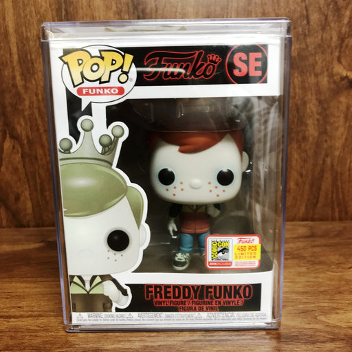 SDCC 2018 Pop Funko - Fundays - Freddy Funko SE Stranger Things Upside Down Will Vinyl Figure