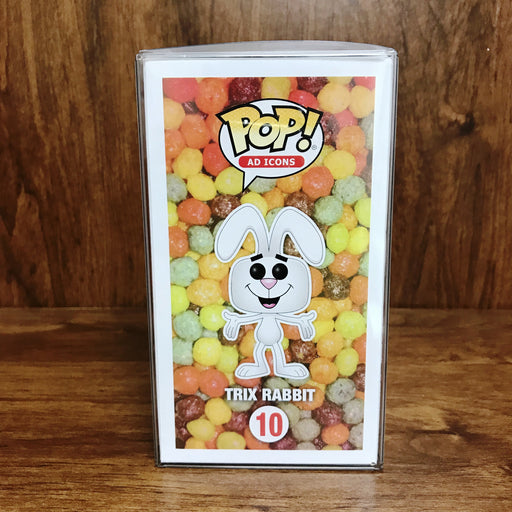 POP Ad Icons - Trix Rabbit Flocked #10 Vinyl Figure