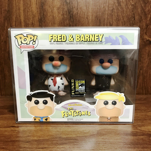 Pop SDCC 2014 Exclusive : The FlintStones : Fred & Barney Vinyl (White & Black)