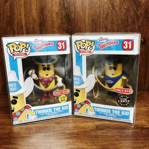 Pop Ad Icons - Twinkie the Kid Set of 2 Glow in the Dark + CHASE Vinyl Figure