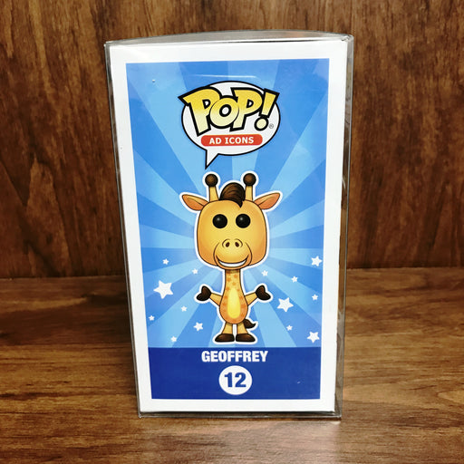 Pop Ad Icons : ToysRus Exclusive : Geoffrey Flocked #12 Vinyl Figure