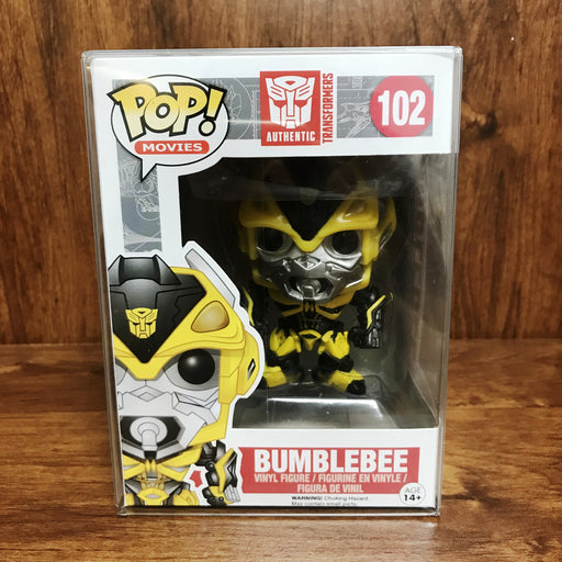 Pop Movies Transformers : Bumblebee #102 Vinyl Figure (Vaulted)