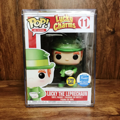 Pop Ad Icons - Lucky Charms : Luckey the Leprechaun Glow In the Dark #11 Vinyl