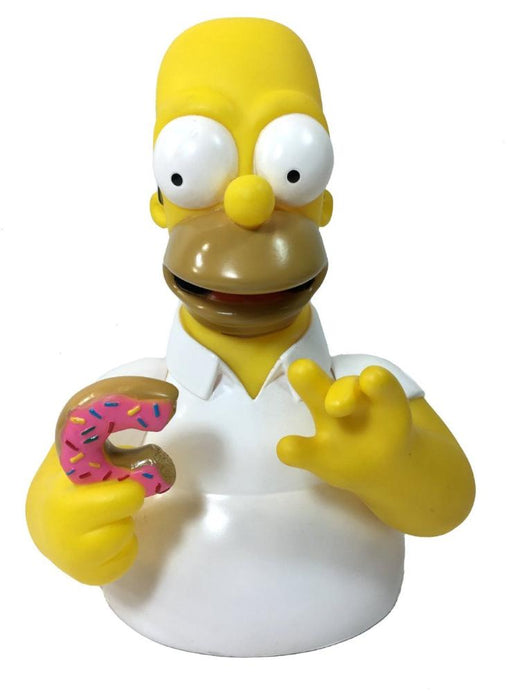 "The Simpsons Homer Simpsons with Donut 7"" Coin/Bust Bank Christmas Birthday Gift"