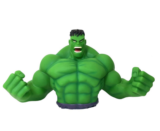 "Marvel Hulk 7"" Coin/Bust Bank Christmas Birthday Gift"