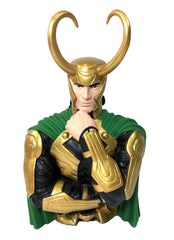 "Marvel Loki 7"" Coin/Bust Bank Christmas Birthday Gift"